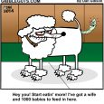 dog worms cartoon
