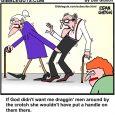 man handle cartoon