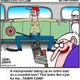 bus seat cartoon