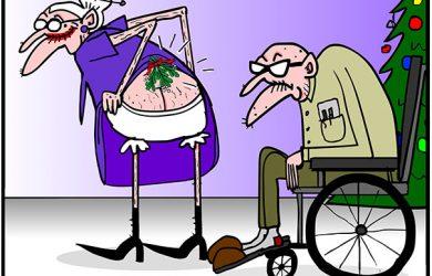 mistletoe tillie cartoon