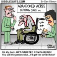 old folks home cartoon
