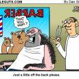 barber shop cartoon
