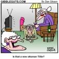 old ladies cartoon