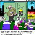 outhouse cartoon