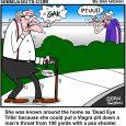 Tillie pea shooter cartoon