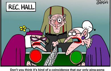 Ping Pong Ball Cartoon