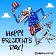 presidents day cartoon