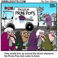 prune man cartoon