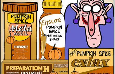 pumpkin spice Tillie