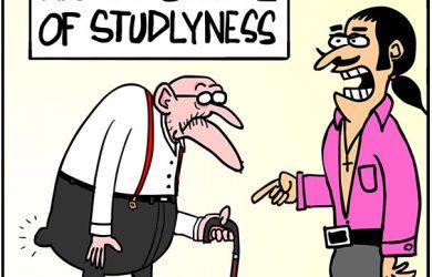 stud cartoon