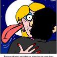 first kiss cartoon