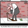 slow herb with snail cartoon
