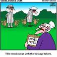 Squirrel hostage cartoon