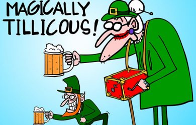 st.patricks day cartoon