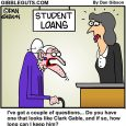 student loans cartoon