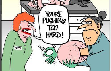 suppository training cartoon