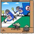 Fly swat cartoon