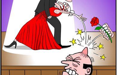 tango contest cartoon