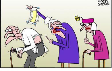 wedgie cartoon