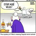 tequila worm comic