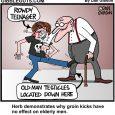 groin kick cartoon