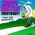 easter bunny cartoon