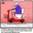 toilet scootert cartoon