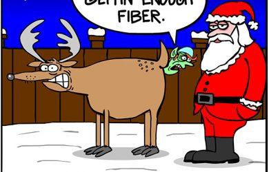 santa elf cartoon