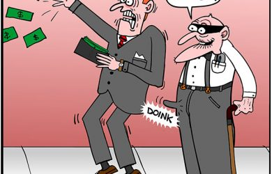 viagra bandit stickup cartoon