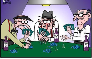 Viagra Poker game cartoon