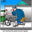 Postal Cartoon