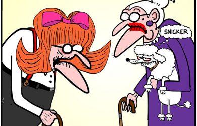 toupee cartoon